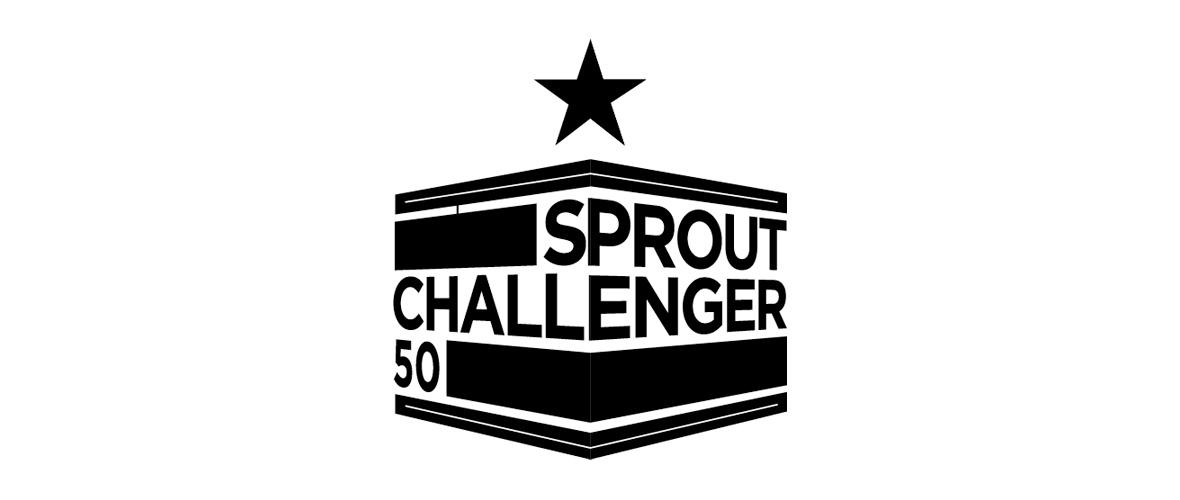 We horen bij de Challenger50 van Sprout!