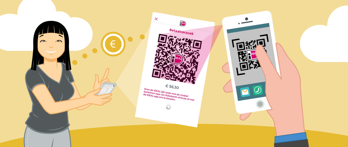 Onderling betalen op koningsdag met de iDEAL app